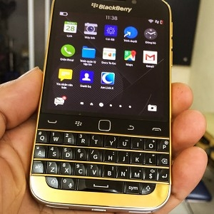 BlackBerry Classic Mạ Vàng