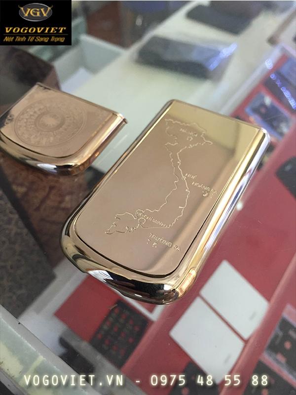 Chế tác vàng  thay phần da 8800