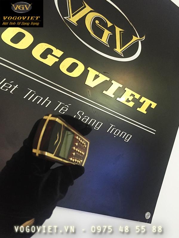 Điện thoại 1280 vertu vàng