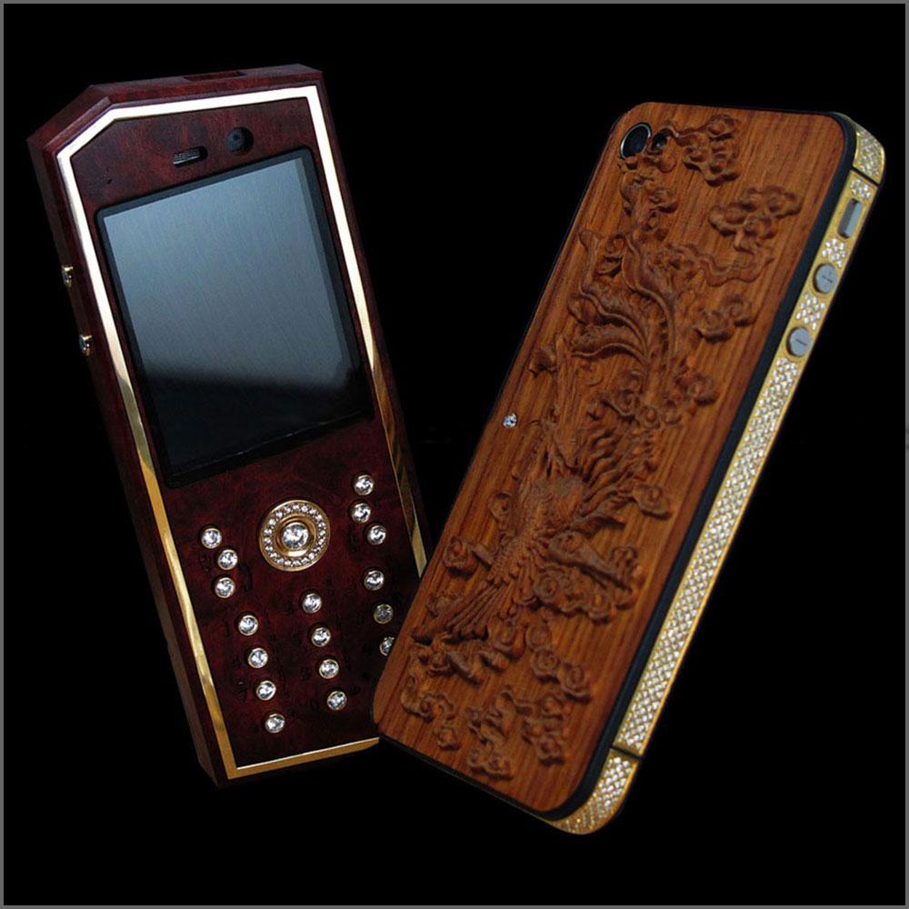 Vỏ gỗ điện thoại 1100i độc mới lạ nhất phần 2