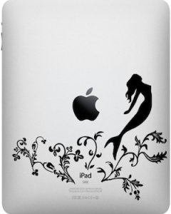 In khắc laser trên iPad