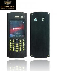 Vỏ gỗ blackberry 9100
