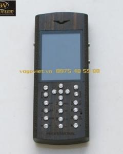 VỎ GỖ ĐIỆN THOẠI X2-02 gỗ Mun