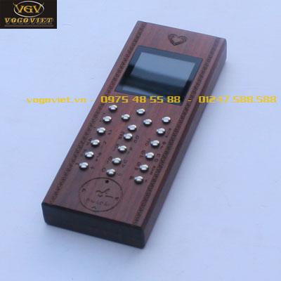 vỏ gỗ điện thoại nokia 105