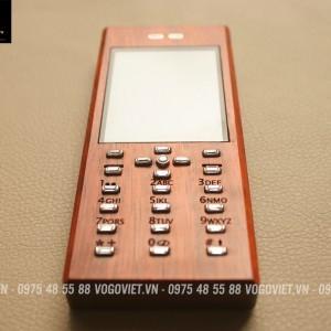 VỎ GỖ ĐIỆN THOẠI NOKIA 206 ( M03)