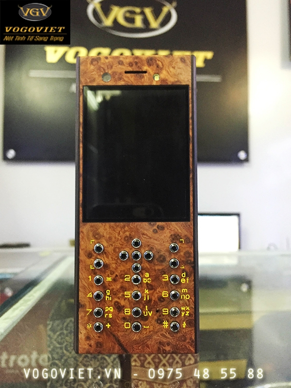 Vỏ gỗ điện thoại nokia 230